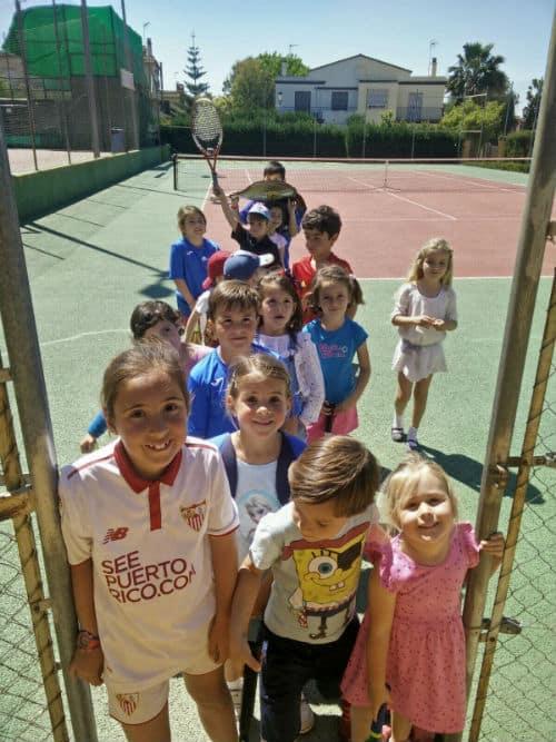 Escuela de tenis en Gelves