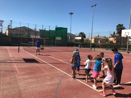 Escuela de tenis en Sevilla para adultos